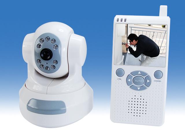 旋回式無線型カメラ 携帯モニタータイプ