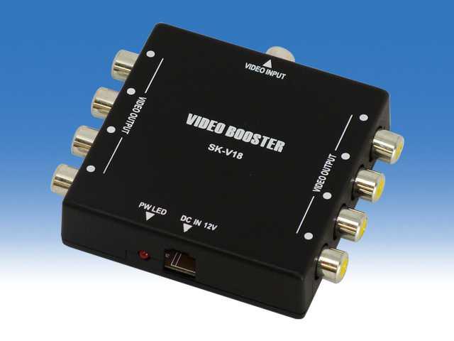 小型映像分配器 8分配 WTW-V0108S