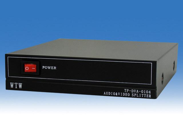 小型映像分配器 <4分配>WTW-V0104A