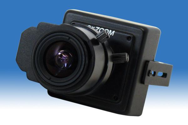 41万画素 小型監視ボードレンズカメラ(バリフォーカル)