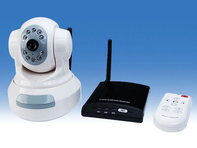 無線式小型監視カメラセット【TR-MINI-806-SET】