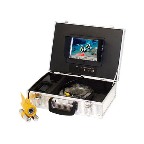水中監視 カラーカメラ 30Mケーブル付【T-WATER-007C1-SET】