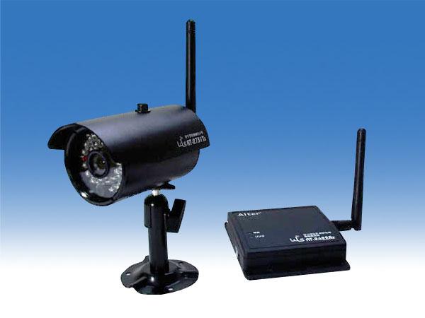 無線式小型監視カメラセット【AT-2730WCS】