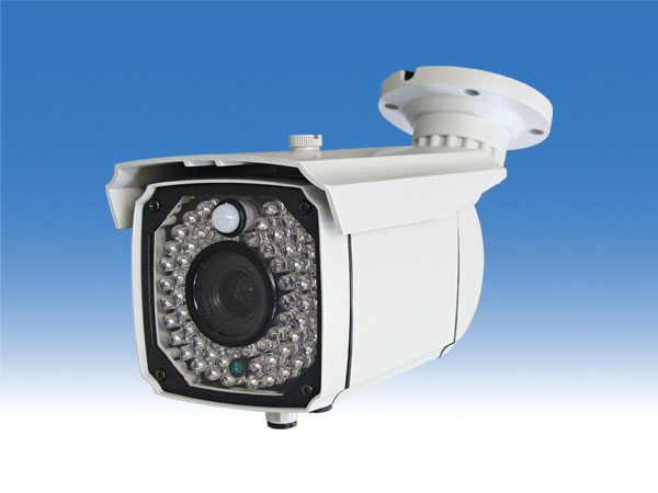 高画質 48個赤外線LED センサーライト 防犯カメラ【WTW-FH030】