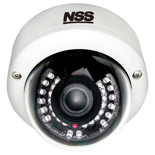 HD防水耐衝撃暗視バリフォーカルドームカメラ【SNSC-HD6033】