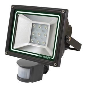【30W】 センサー式自動点灯LEDライト 防滴IP54