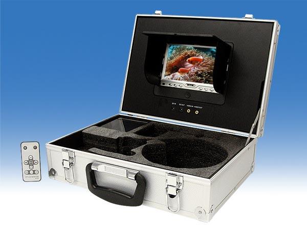 水中監視カメラ ポータブル監視モニターセット【T-WTW-LB7】